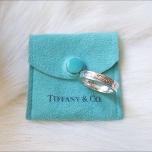 Tiffany & Co. 1837 Silver Ring Size 5.5